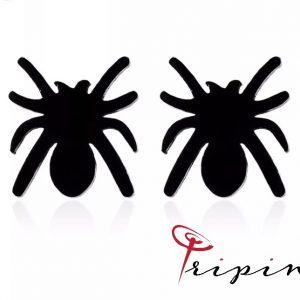 Обеци от неръждаема стомана Tripin' Sweet and fresh - Spider, снимка 1